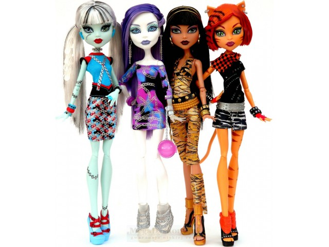 barbie and monster high